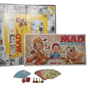 Vintage Mad Magazine Revue Boardgame Game